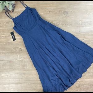 Navy Blue Lulu's Dress